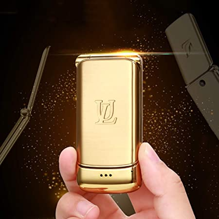 HDKODE Móvile V9 Metal Flip Mini teléfono móvil desbloquea ...