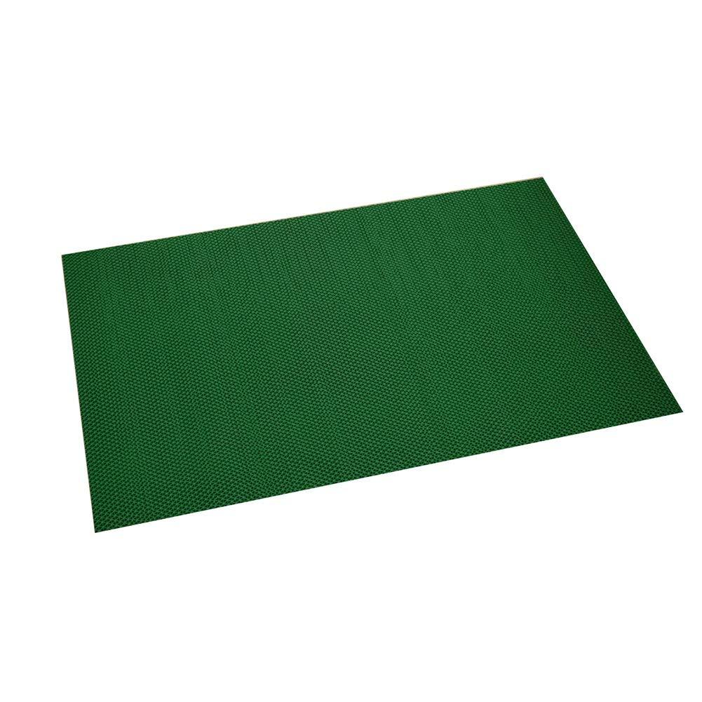 Bath Mat,Kids' Bath Rugs Bath Mat Rug Carpet Door Mat Home Non-Slip Mat Bathroom Take A Shower Household Foot Pad Thicken Hollow Plastic WEIYV (Color : Green, Size : 5080cm)
