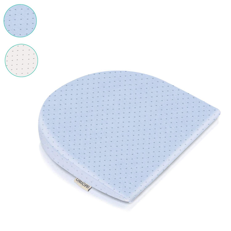 Infant Crib Pillow White 15-Degree