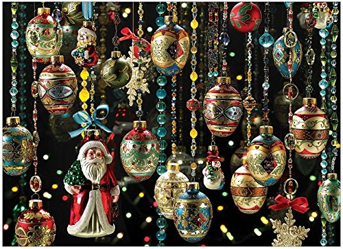 Hill Ornament - Cobble Hill Christmas Ornaments 1000 Piece Christmas 1000 Piece Jigsaw Puzzle