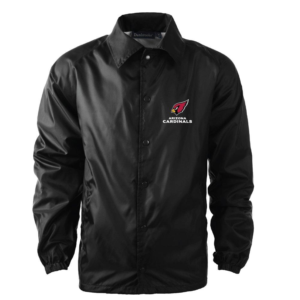 aaf05748107 Amazon.com   Dunbrooke Apparel NFL Coaches Windbreaker Jacket   Sports    Outdoors
