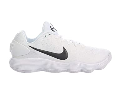 sports shoes 906ec c6755 NIKE Men s React Hyperdunk 2017 Low White Black Synthetic Running Shoes 7  ...