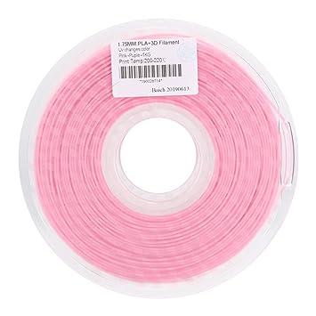 Tosuny Rosa a púrpura PLA 1.75 mm Luz Ultravioleta Cambio de Color ...