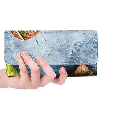 Amazon.com: Monedero de tres pliegues con diseño de blog de ...