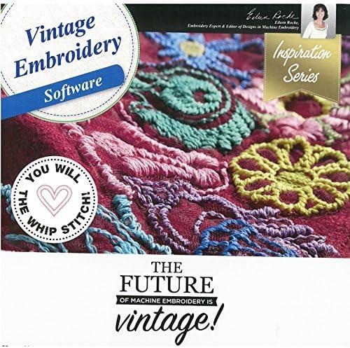 [해외]DIME Designs in Machine Embroidery Vintage Embroidery Software / DIME Designs in Machine Embroidery Vintage Embroidery Software