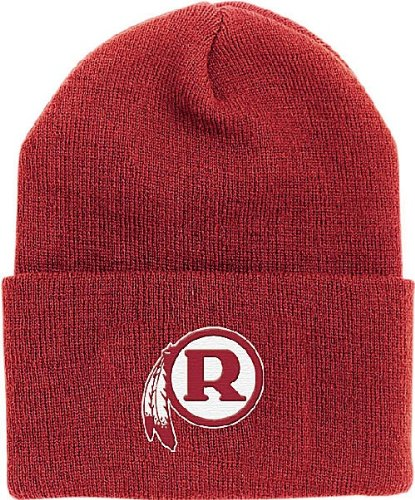 (Washington Redskins Throwback Cuffed Knit Cap By Reebok)