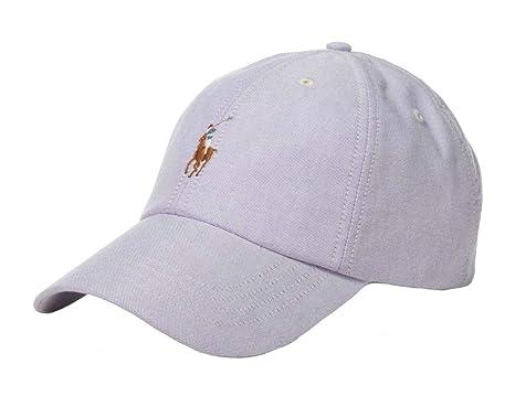 Ralph Lauren - Gorra de béisbol - Morado Powder Purple: Amazon.es ...