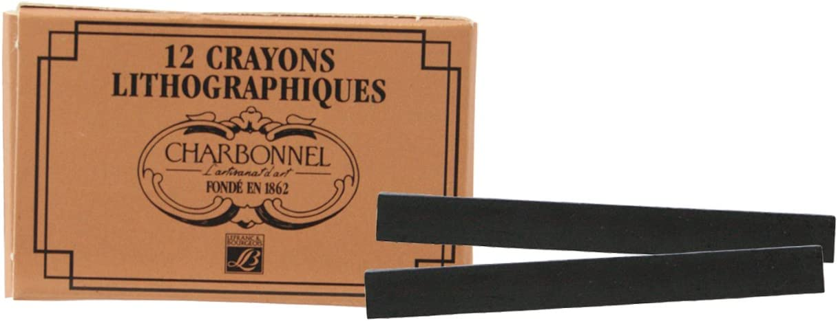 Lefranc /& Bourgeois 331133 LB Charbonnel 12 Nr3 Litho Chalks Multi-Coloured