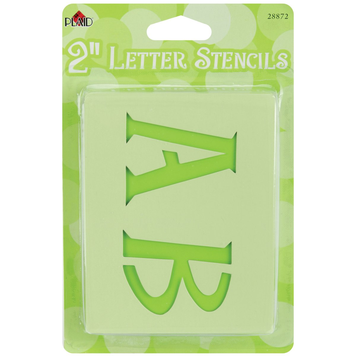 Amazon plaid letter stencil value pack 2 inch 28872 genie thecheapjerseys Image collections