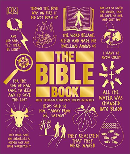 The Bible Book: Big Ideas Simply (Large Dk Green)