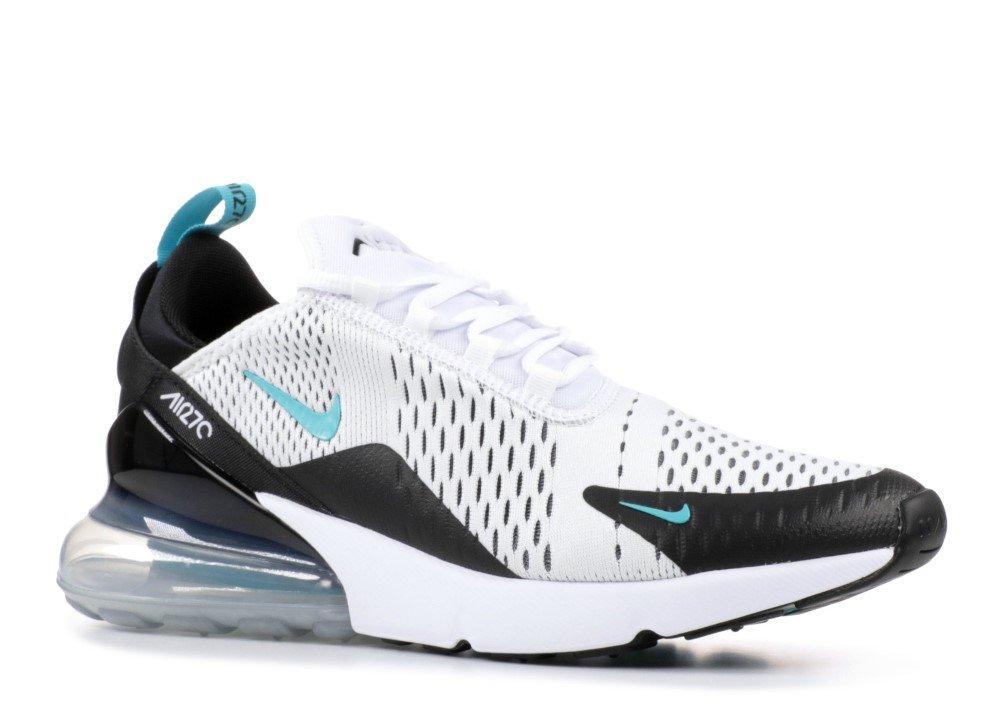 Nike Men's Air Max 270 BlackWhite AH8050 001 (Size: 12)