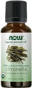 Now Foods Organic Essential Oils, Citronella, 30ml