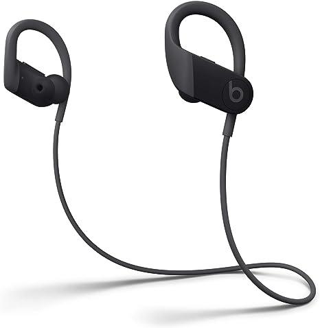Auriculares Inalámbricos de Alto Rendimiento Powerbeats - Chip H1 de Apple, Bluetooth de Clase 1, 15 Horas de Sonido Ininterrumpido, Tapones Resistentes al Sudor - Negro: Amazon.es