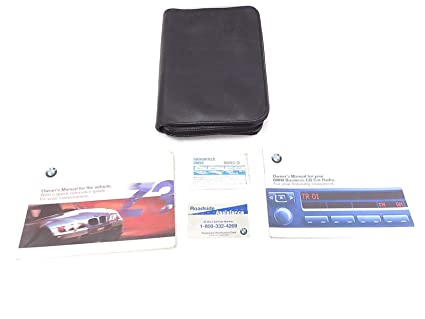 amazon com owners manual set with radio book 2 5l 3 0l roadster bmw rh amazon com BMW Owners Manual 2013 2008 bmw x3 owners manual for radio