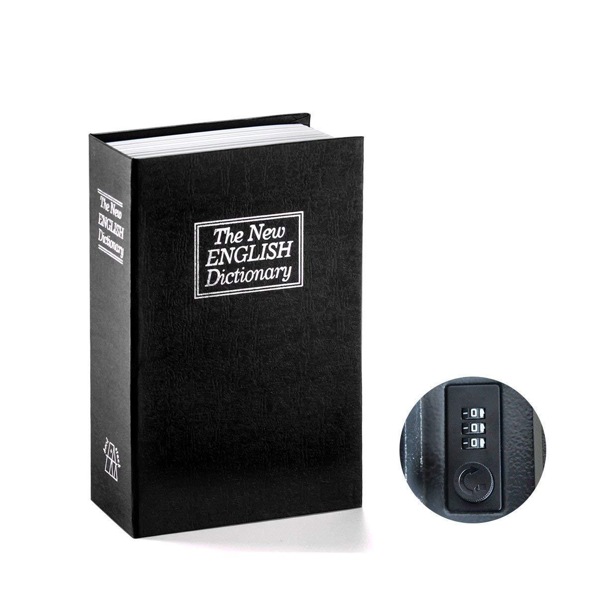 REFURBISHHOUSE Caja fuerte de libro con cerradura de combinacion ...