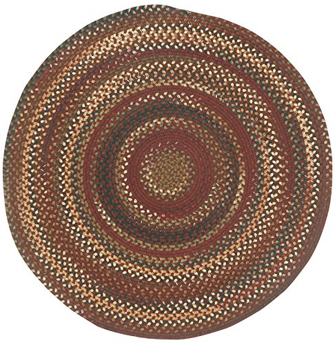 Capel Rugs Bangor 3 ft. Round Braided Area Rug - Contemporary Rugs Rug Capel