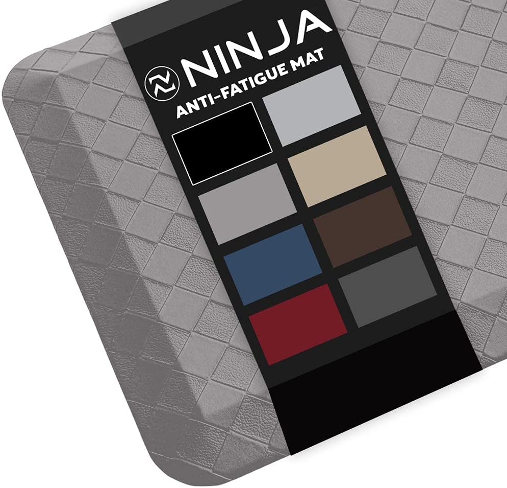 Attention brand Deluxe Ninja Brand Premium Floor Engineered Mat Ergonomically Comfort