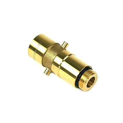 Drehmeister LPG W21.8 Juego de adaptadores para dep/ósitos con Funda