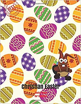 Christian easter sketch book for toddlers blank paper for drawing doodling or sketching 100 large blank pages 85x11 for sketching inspiring christian easter gifts for kids volume 6 amazon negle Images