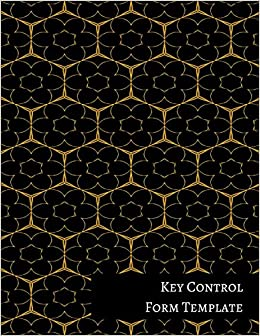 key control form template journals for all 9781521313909 amazon
