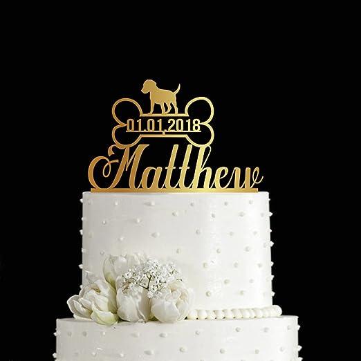 Kiskistonite - Adornos para tarta con diseño de hueso para ...