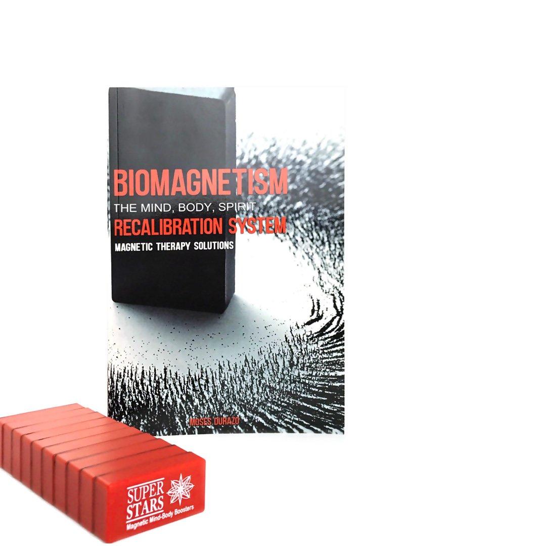 Terapia de Imanes - Biomagnetismo 1 Libro y 10 Imanes