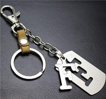 Keychains Home Alfabeto inglés Separable F Aleación Colgante ...