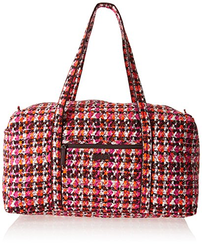 Women's Large Duffel, Signature Cotton, Houndstooth (Tweed Duffle)