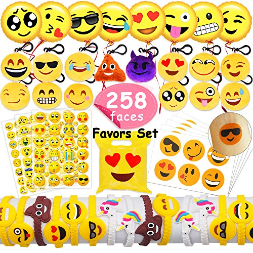 MelonBoat Emoji Party Favors and Supplies