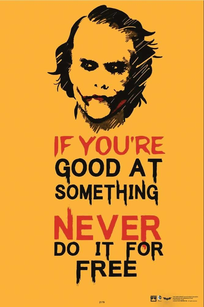 Hungover Joker Quote The Dark Knight Special Paper Poster (13x19 inches)