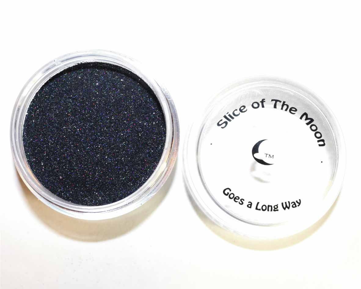 Black Glitter Powder - Solvent Resistant Glitter Powder 15g – Slice of the Moon