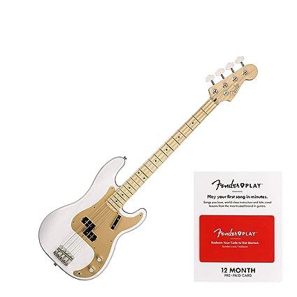 Amazon com: Fender American Original '50s Precision Electric