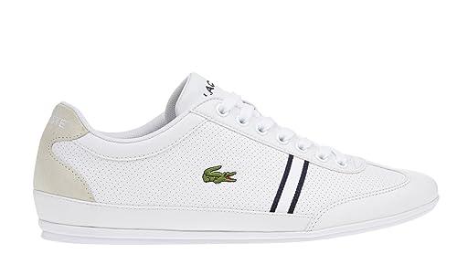 Sale - Lacoste Misano - Sport - Zapatillas para hombre - Color Blanco Guantes en tallas especiales, color, talla 46.5 EU: Amazon.es: Zapatos y complementos