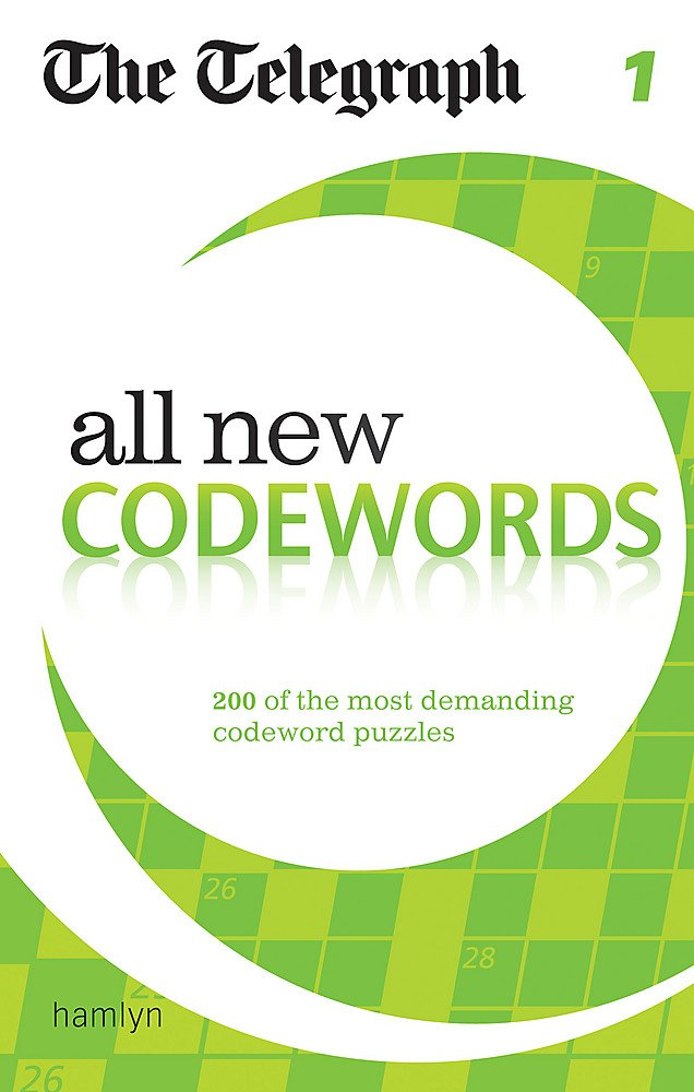 a7a2f31b9 The Telegraph: All New Codewords 1 (The Telegraph Puzzle Books ...