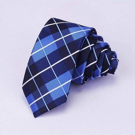 KYDCB Corbata de los Hombres Corbata Delgada 6Cm Corbata Flaca ...