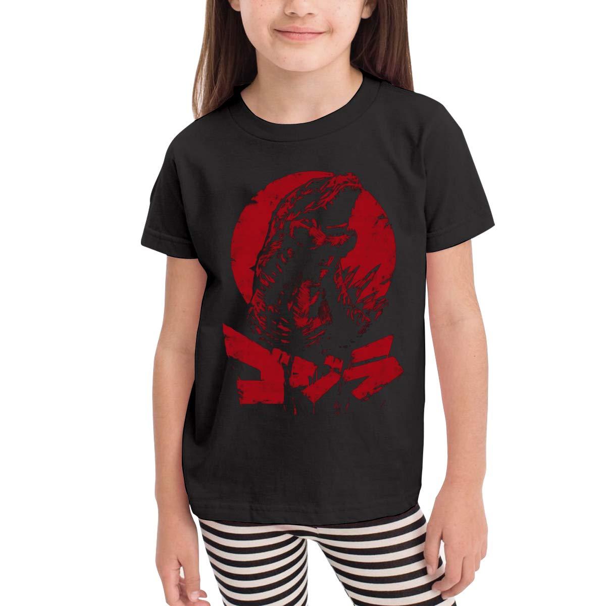 Kaddias The King Will Rise God Zilla Girls Classic Short Sleeve T Shirt 8285