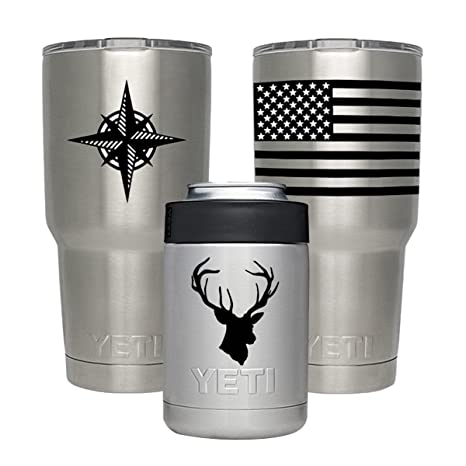 Gamexcel Decal For Yeti Cups Stickers For Vinyl Tumbler Personalized Protective Decals Sticker Diy For Yeti Tumbler 20 30 Oz Lowball Rambler Cups