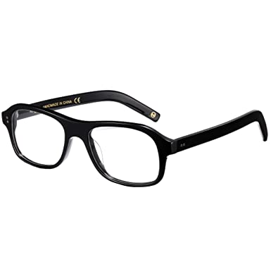 84336110783 Image Unavailable. Image not available for. Color  EyeGlow Eyewear Acetate Eyeglasses  Frame With Non-Prescription Clear Lens Men Women Fashion ...