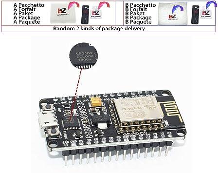 Módulo inalámbrico CH340 / CP2102 NodeMcu V3 V2 Lua WIFI ...