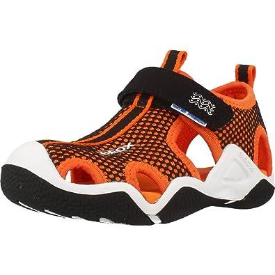 GEOX Tong, Color Orange, Marca, Modelo Tong JR Wader Orange