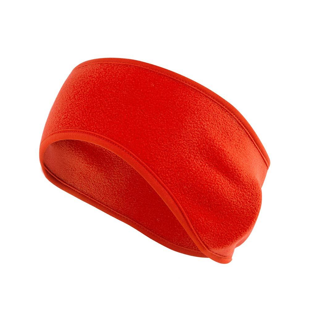 YMCHE Winter Ear Warmer Headband,Ski Headband Winter Warm Fleece Headband Earrings Elastic Headband