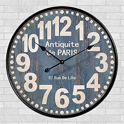 34cm Diameter Shabby Chic Vintage Wall Clock