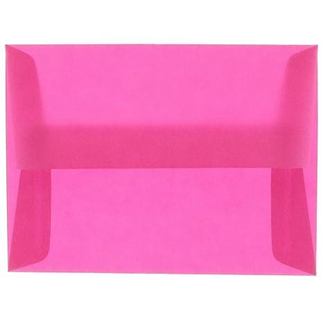 amazon com jam paper a10 translucent vellum invitation envelopes