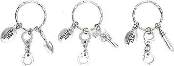 Gun Keychain 1776 We The People Bullet Keychain Bullet Jewelry