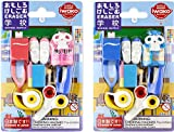 Iwako blister pack eraser school 10 pieces SCERBRI015