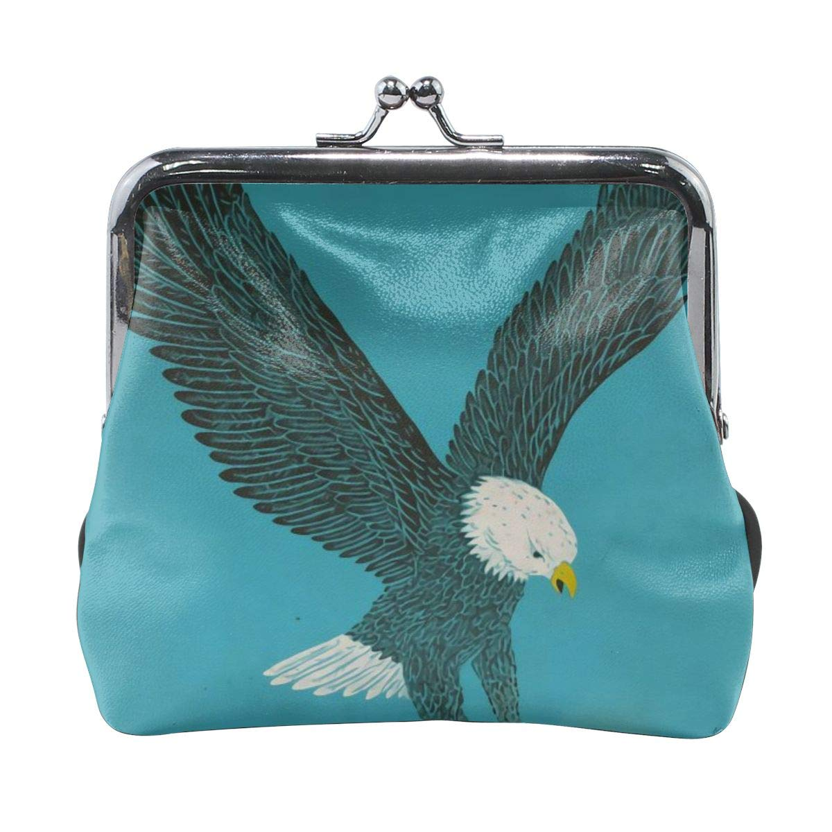 Fashion Flying Eagle Cash Buckle Coin Purse For Womens