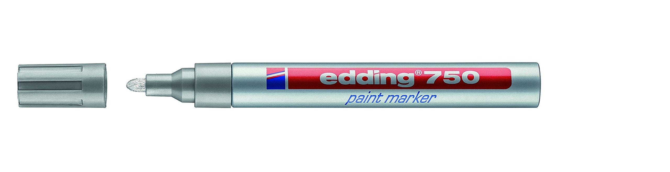 Edding 750 Silver 10pc(s) Paint Marker by edding