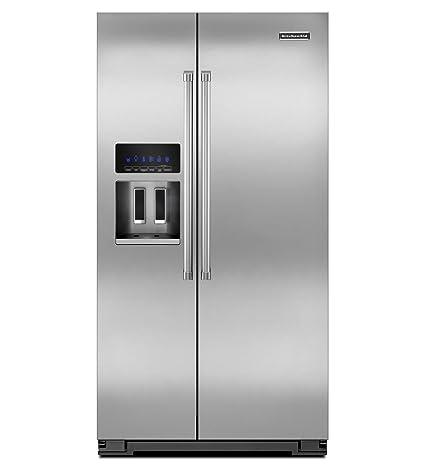 Kitchenaid KSC24C8EYP 35 1/2-Inch, 24 Cu. Ft. Counter-Depth Side-by-Side  Refrigerator