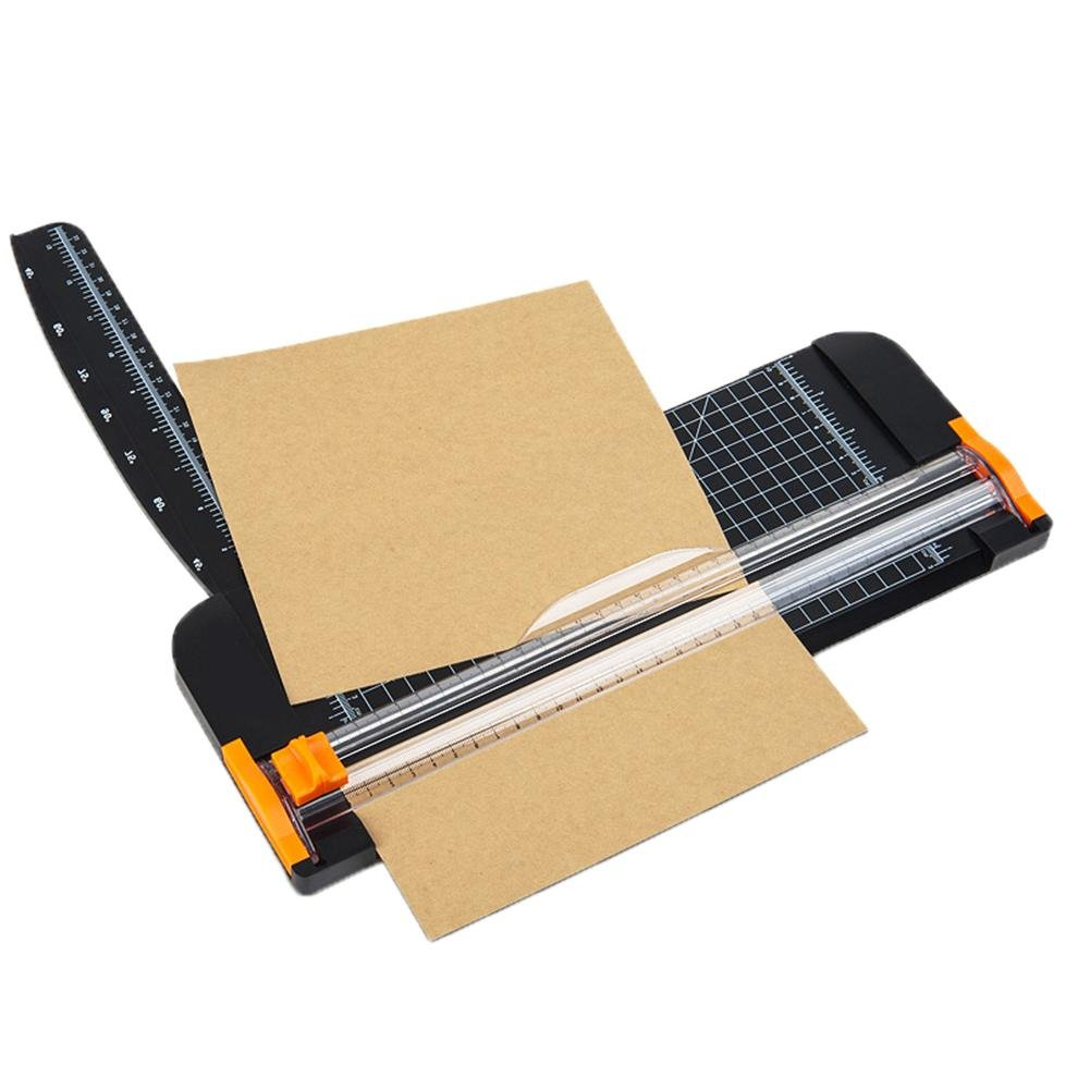 Paper Cutter, 12 Inch A4 Titanium Paper Trimmers Scrapbooking Tool with Automatic Security Safeguard for Greeting Cards, Coupon, Craft Paper and Photo by eronde (Image #4)