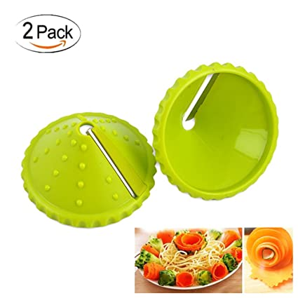 Amazon Com Easy Carrot Cucumber Spiral Curler Sharpener Crinkle